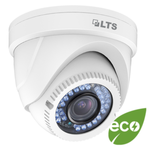 eco - Platinum HD-TVI Turret Camera 2.1MP - White